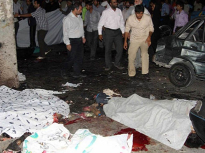 عکس:  انفجار بمب در ولایت هلمند شش سرباز بریتانیایی را کشت / افغانستان