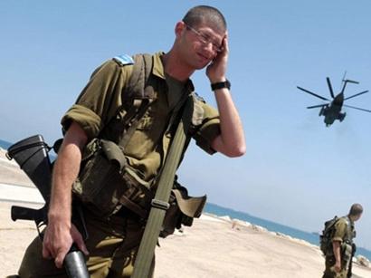 صور: إسرائيل تعزز قواتها على حدود مصر  / أحداث