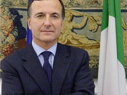 """صور: فرانكو فراتيني: """" ايطاليا تدعم عملية المفاوضات حول نزاع قراباغ الجبلية بين أرمينيا وأذربيجان"""" / نزاع ناغورني كاراباخ"""