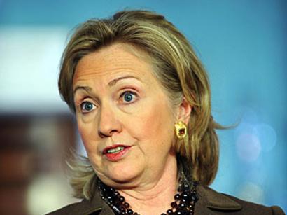 صور: كلينتون تدعو القذافي للتنحي / سياسة