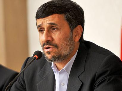 عکس: احمدی نژاد:  با دخالت ناتو در افغانستان و منطقه ناامنی گسترش یافت / ایران