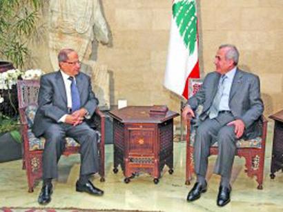 """صور: لبنان: سليمان يبدأ مشاورات لعقد هيئة الحوار و""""حزب الله"""" يرجح تأخر صدور القرار الاتهامي / سياسة"""