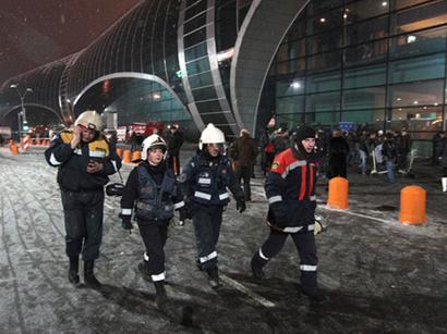 عکس: دستگیری سه نفر از متهمان به دخالت در حمله تروریستی در فرودگاه دامودیدووا در جمهوری اینگوشتیا / روسیه