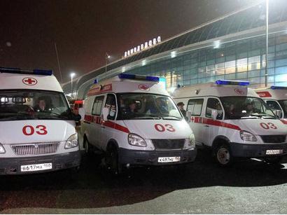 """عکس: پس از حمله تروریستی در فرودگاه """"دامودیدووا"""" وضعیت جسمانی 43 نفر- وخیم و فوق العاده وخیم گزارش شد / روسیه"""