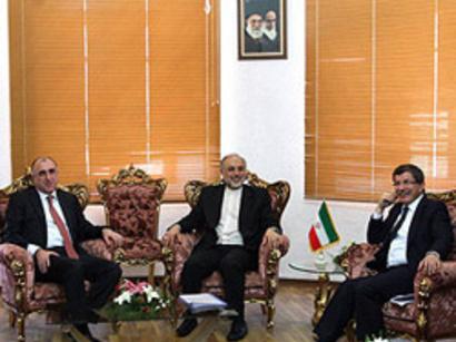 عکس: زمان دیدار آتی وزرای خارجه آذربایجان، ایران و ترکیه اعلام شد / آذربایجان