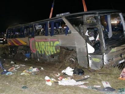 عکس: هفت نفر بر اثر تصادف در غرب گرجستان جان باختند / گرجستان
