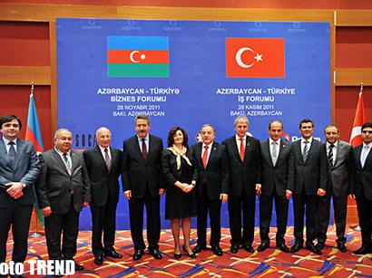 عکس: نشست مشترک تجار آذربایجان و ترکیه (گزارش تصویری)  / تصویری
