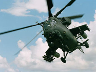 عکس: طالبان نه سرنشین خارجی یک هلیکوپتر غیرنظامی را در ولایت لوگر گروگان گرفت / افغانستان