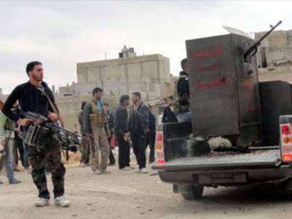 صور: الائتلاف: الأسد يستخدم سجناء كدروع لمواجهة ضربة الغرب / أحداث