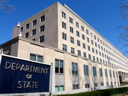 Госдеп США обеспокоен обострением ситуации на линии соприкосновения войск Азербайджана и Армении