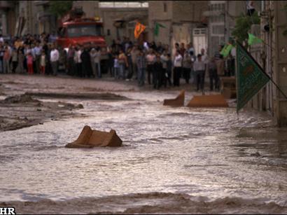 عکس: سیلاب 500 خانواده را در سیمرغ از خانه اشان فراری داد / حوادث