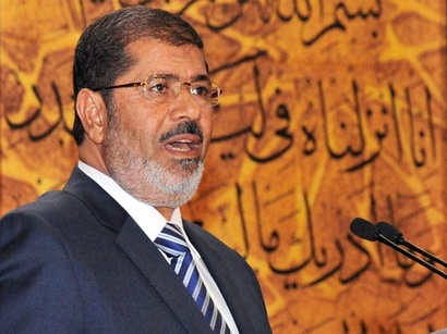 صور: مرسي: لن نقبل بالعدوان على الفلسطينيين  / العلاقات الاسرائيلية العربية