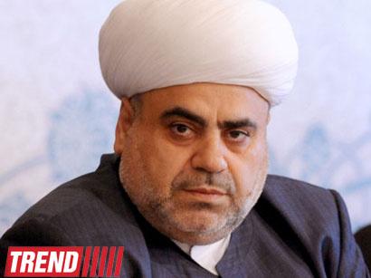 عکس:  پیام تبریک رئیس اداره مسلمانان قفقاز خطاب به مردم آذربایجان بمناسبت عید نوروز  / اجتماعی
