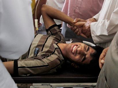 صور: جرحى بهجوم جديد بباكستان  / أحداث