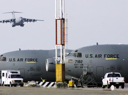 عکس: رای قاطع پارلمان قرقیزستان برای بسته شدن پایگاه هوایی آمریکا / قرقیزستان