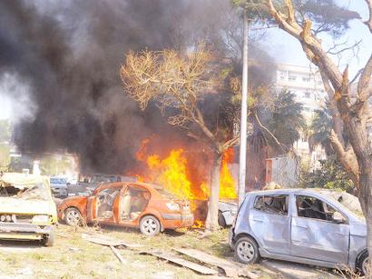 صور: نجاة رئيس الوزراء السوري من تفجير استهدف موكبه وسط دمشق / أحداث