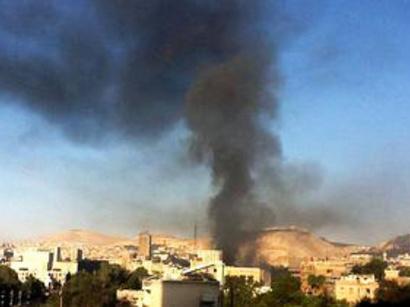 صور:  انفجار بدمشق واشتباكات بسجن حلب  / أحداث