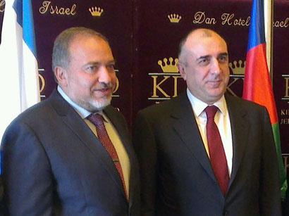 عکس: دیدار وزیر خارجه آذربایجان از اسرائیل و فلسطین / آذربایجان