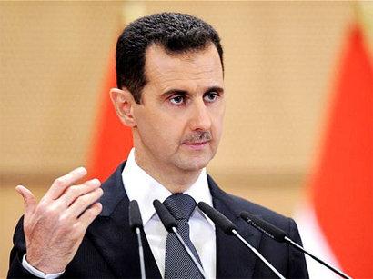 صور:  الأسد ينفي صلته بالهجوم الكيميائي  / أحداث
