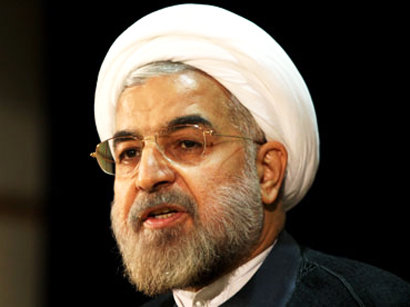 عکس: روحاني : ايران خلع سلاح هسته اي را براي صلح  بين المللي ضروري مي داند / ایران