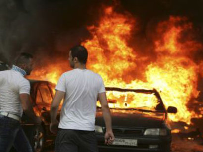 صور: مراسل الجزيرة بلبنان: قتلى وجرحى بتفجير سيارة قرب السراي الحكومي في الهرمل  / أحداث