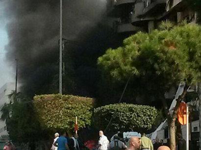 صور:  قتيلان وجرحى في انفجار جنوب بيروت  / أحداث