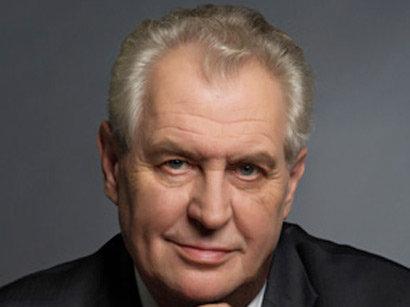 صور: الرئيس التشيكي ميلوش زيمان : الالعاب الاوروبية فرصة كبيرة امام أذربيجان لتقديم امكانياتها الى العالم / وجه النظر
