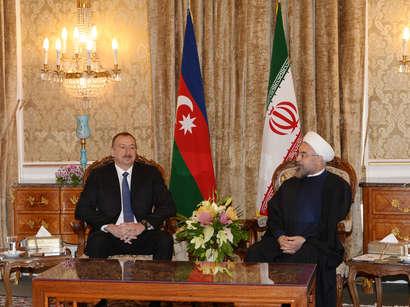 عکس: رئیس جمهوری آذربایجان پیروزی روحانی را تبریک گفت / ایران