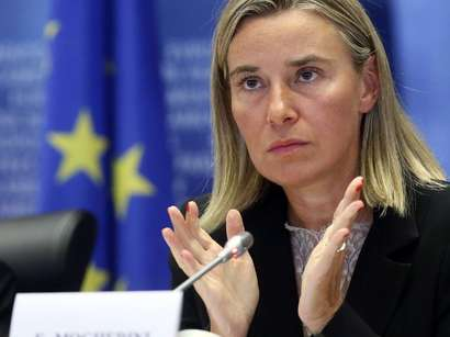 Federika Mogerini: Dağlıq Qarabağ münaqişəsi tez bir zamanda siyasi yolla həll olunmalıdır