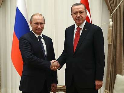 صور: أردوغان وبوتين يتفقان على تكثيف جهود التوصل لهدنة في حلب بمناسبة العيد  / سياسة