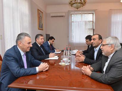 عکس: دعوت معاون نخست وزیر جمهوری آذربایجان از وزیر تعاون، کار و رفاه اجتماعی / ایران