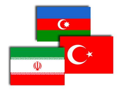 عکس: وزرای خارجه ایران، ترکیه و آذربایجان در باکو دیدار می کنند / آذربایجان
