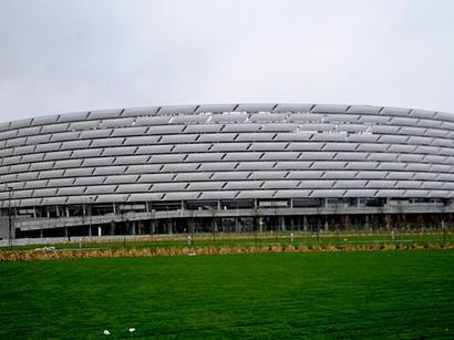 Bakı Olimpiya Stadionu dünyanın ən yaxşılarından biri oldu