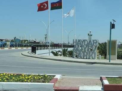 صور:  افتتاح حديقة حيدر علييف في مدينة طرطوس التركية / سياسة