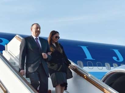 صور: الرئيس إلهام علييف يصل في زيارة عمل إلى روسيا / سياسة