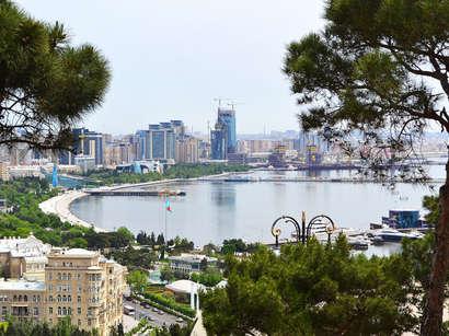 عکس: مناظری از ساحل باکو (تصویری) / آذربایجان