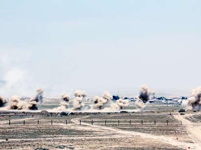 عکس: وزارت دفاع آذربایجان: شمار کشته های نظامی ارمنی به 370 نفر رسید / ارمنستان