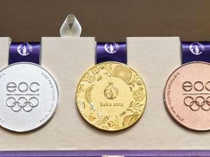 عکس: آذربایجان در جدول رده بندی مدال اولین بازیهای اروپایی جایگاه دوم خود را حفظ کرده است   / آذربایجان