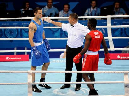 صور: ملاكم أذربيجاني يحرز ذهبية الألعاب الأوروبية الأولى / مجتمع