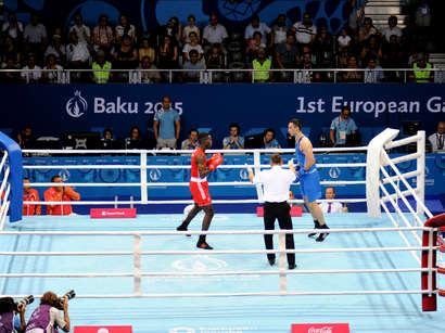 صور: الملاكم الاذربيجاني تيمور محمدوف يتأهل الى نهائي المسابقة بدورة الالعاب الاوروبية الاولى / مجتمع