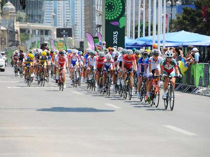 عکس: مسابقات اروپایی رشته دوچرخه سواری بانوان در باکو آغاز شد (زنده) / آذربایجان