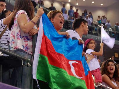 عکس: شمار مدالهای آذربایجان در بازیهای اروپایی به 52 رسید / آذربایجان