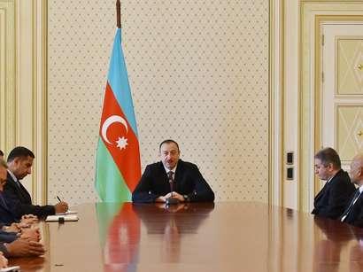 صور: الرئيس الأذربيجاني يستقبل سفراء البلدان الإسلامية في أذربيجان بمناسبة رمضان المبارك / سياسة