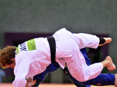 صور: مسابقات الجودو على مستوى الفرق تقام في دورة الألعاب الأوربية الأولى  / مجتمع