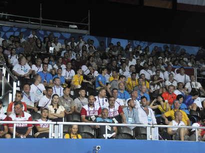 صور: أذربيجان تحصل على الذهبية الـ16 في الألعاب الأوروبية الأولى  / مجتمع