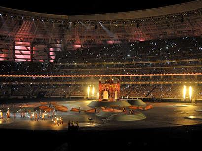 صور: مراسم اختتام الألعاب الأوروبية الأولى- تقرير مصور / مجتمع