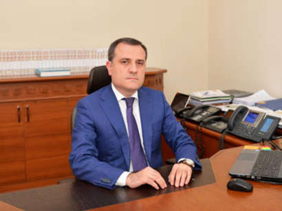 عکس: وزیر خارجه آذربایجان: در ریشه مناقشه قره باغ حل نشدن این مساله هست / قره باغ کوهستانی