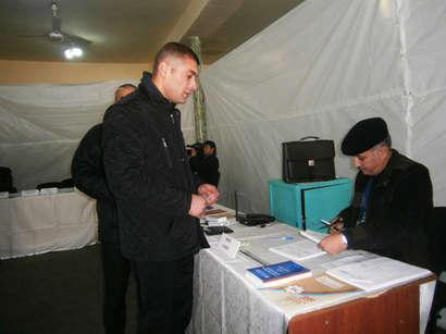 عکس: حزب حاکم آذربایجان 70 کرسی پارلمان را تصاحب کرد / آذربایجان