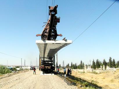عکس: اتصال خط ریلی جمهوری آذربایجان به پارس آباد پیگیری می شود / اخبار تجاری و اقتصادی
