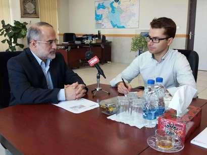 عکس: اولویت راه آهن ایران تکمیل کریدورها است (مصاحبه اختصاصی)   / ایران